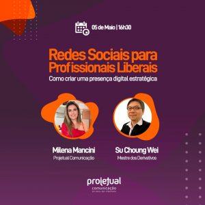 live redes sociais para profissionais liberais